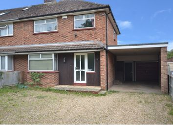 Thumbnail 3 bed semi-detached house for sale in The Dip, Newmarket