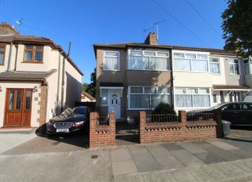 Thumbnail 3 bed end terrace house for sale in Norfolk Road, Upminster