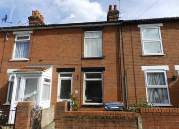Thumbnail 2 bed terraced house for sale in Schreiber Road, Ipswich, Suffolk