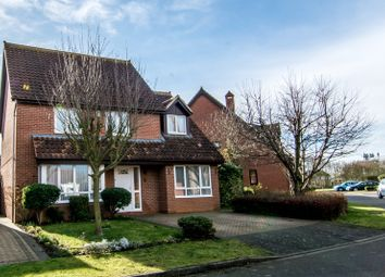 Thumbnail 4 bed detached house for sale in Avocet Close, Sandy, Bedfordshire