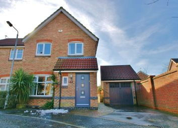 Thumbnail 3 bed semi-detached house for sale in Webb Drive, Rackheath, Norwich