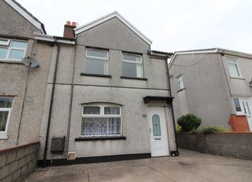 Thumbnail Semi-detached house for sale in Central Avenue, Cefn Fforest, Blackwood