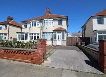 Thumbnail 3 bedroom semi-detached house to rent in Alderley Avenue, Blackpool
