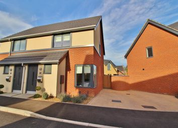 Thumbnail 2 bedroom semi-detached house for sale in Blaxter Way, Norwich