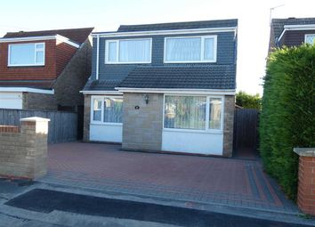 Thumbnail 3 bed detached house for sale in Picksley Crescent, Holton-Le-Clay, Grimsby