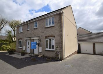 Thumbnail 2 bed semi-detached house for sale in Robin Drive, Launceston