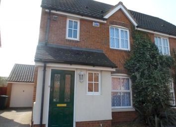 Thumbnail 3 bed semi-detached house to rent in Wood Avens Way, Wymondham