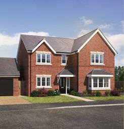 Thumbnail 4 bedroom detached house for sale in Gateway Avenue, Newcastle Under Lyme, Staffordshire