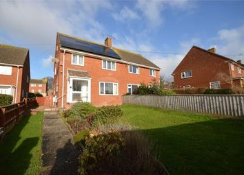Thumbnail 3 bed semi-detached house for sale in Midway, Exmouth, Devon