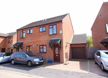 Thumbnail 2 bed semi-detached house to rent in Salisbury Grove, Giffard Park, Milton Keynes