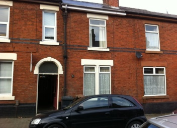 Thumbnail 4 bed shared accommodation to rent in Sun Street, Derby
