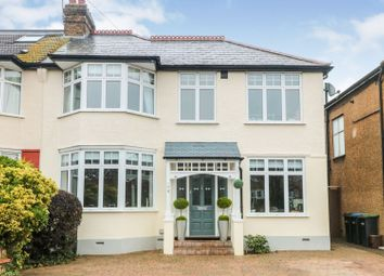 Thumbnail 4 bed semi-detached house for sale in Graeme Road, Enfield