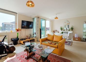 Thumbnail 2 bed flat for sale in Boardwalk Place, London