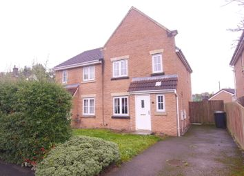 Thumbnail 3 bed semi-detached house to rent in Parkedge Close, Leigh