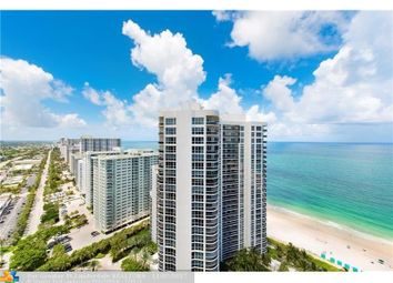 Thumbnail 4 bed town house for sale in 3200 N Ocean Blvd 2909, Fort Lauderdale, Fl, 33308