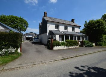 Thumbnail 5 bed detached house for sale in Canworthy Water, Launceston