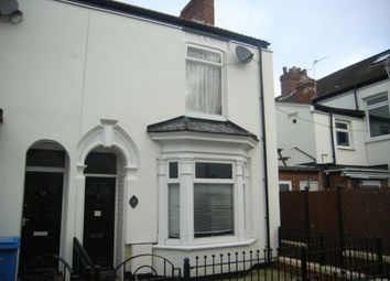 Thumbnail 2 bedroom end terrace house for sale in Myrtle Avenue, Wellsted Street, Hull