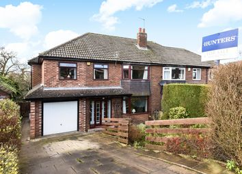 Thumbnail 5 bedroom semi-detached house for sale in Moseley Wood Avenue, Leeds
