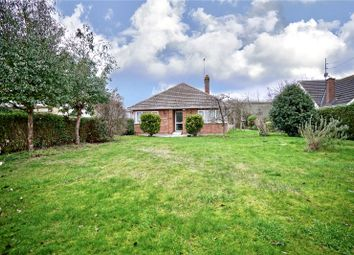 Thumbnail 3 bed detached bungalow for sale in Glatton Road, Sawtry, Huntingdon, Cambridgeshire