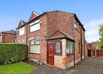 Thumbnail 3 bed semi-detached house for sale in Newington Avenue, Prestwich, Manchester