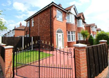 Thumbnail 3 bedroom semi-detached house for sale in Leamington Road, Reddish, Stockport