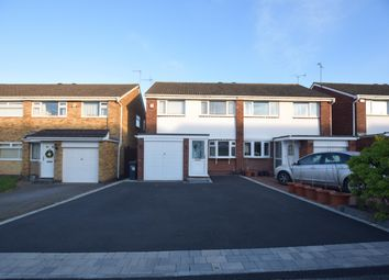 Thumbnail 3 bed semi-detached house for sale in Lammas Close, Solihull