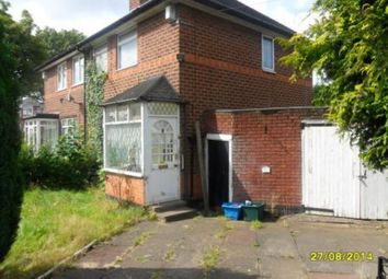 Thumbnail 2 bed property to rent in Lyme Green Road, Stetchford, Birmingham