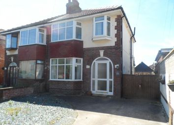 Thumbnail 3 bed semi-detached house for sale in Carr Gate, Cleveleys