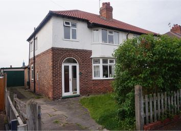 Thumbnail 3 bed semi-detached house for sale in Elmwood Avenue, Chester