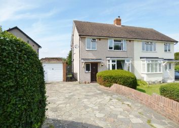 Thumbnail 3 bed semi-detached house for sale in Lodge Road, Fetcham, Leatherhead