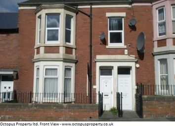 Thumbnail 2 bed flat to rent in Strathmore Crescent, Newcastle Upon Tyne