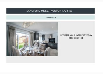 Thumbnail 3 bed detached house for sale in Langford Mills, Norton Fitzwarren, Taunton