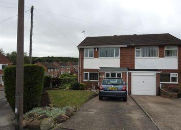 Thumbnail 3 bed semi-detached house for sale in Farleys Lane, Hucknall, Nottingham