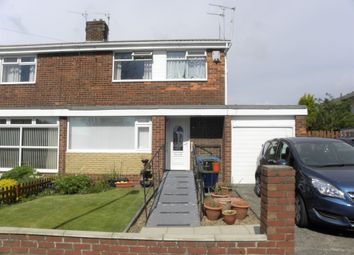 Thumbnail 3 bed semi-detached house for sale in Fontburn Road, Seaton Delaval, Whitley Bay