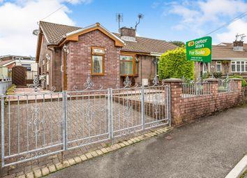 Thumbnail 2 bed semi-detached bungalow for sale in Tyn Y Bettws Close, Bettws, Bridgend