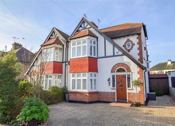 Thumbnail 3 bed semi-detached house for sale in Medway Crescent, Leigh-On-Sea, Essex