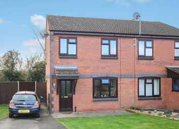 Thumbnail 3 bed semi-detached house for sale in Sherrington Drive, Hereford