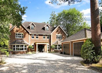 6 bed detached house for sale in Hollybush Ride, Finchampstead, Wokingham, Berkshire RG40.