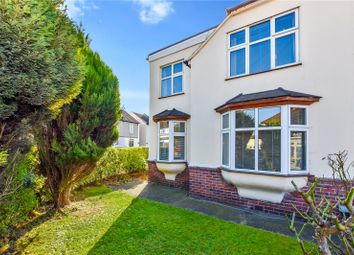 Thumbnail 4 bed semi-detached house for sale in Long Lane, Bexleyheath, Kent