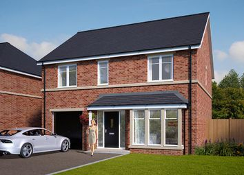 "Thumbnail 4 bed detached house for sale in ""The Rosebury"" at Standbridge Lane, Crigglestone, Wakefield"