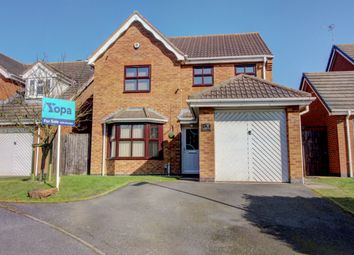 Thumbnail 4 bed detached house for sale in Glendale Court, Wilnecote, Tamworth