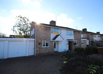 Thumbnail 3 bed semi-detached house to rent in The Limes, Hitchin