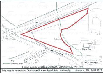 Thumbnail Land for sale in Land At Shotford Bridge &, Bridge View, Redenhall, Harleston, Norfolk