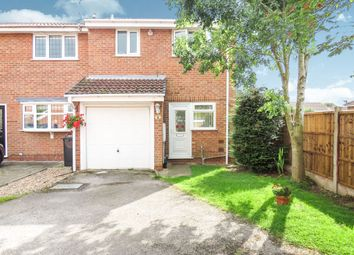 Thumbnail 2 bed semi-detached house for sale in Pinecroft Court, Oakwood, Derby