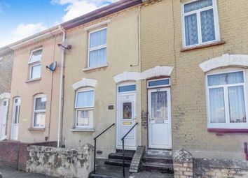 Thumbnail 2 bed terraced house for sale in Montfort Road, Rochester, Kent