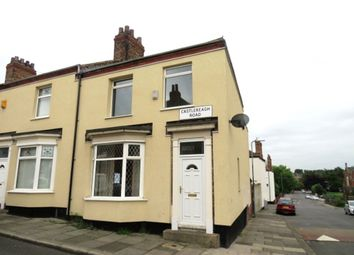 Thumbnail 2 bed end terrace house for sale in Castlereagh Road, Stockton-On-Tees