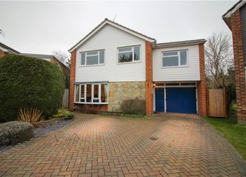Thumbnail 4 bedroom detached house for sale in Ives Close, Yateley, Hampshire