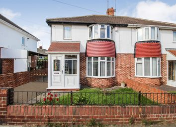 Thumbnail 3 bed semi-detached house for sale in Crummock Avenue, Seaburn Dene, Sunderland