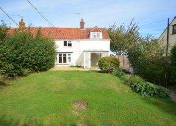 Thumbnail 4 bed semi-detached house for sale in The Loke, Blundeston, Norfolk