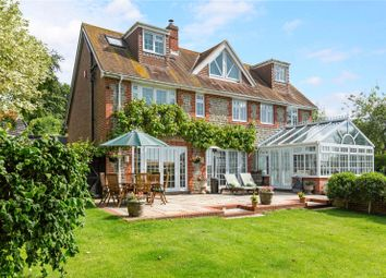 Thumbnail 5 bedroom detached house for sale in The Street, Bury, Pulborough, West Sussex